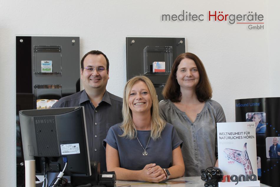 meditec Hörgeräte Saarbrücken Team