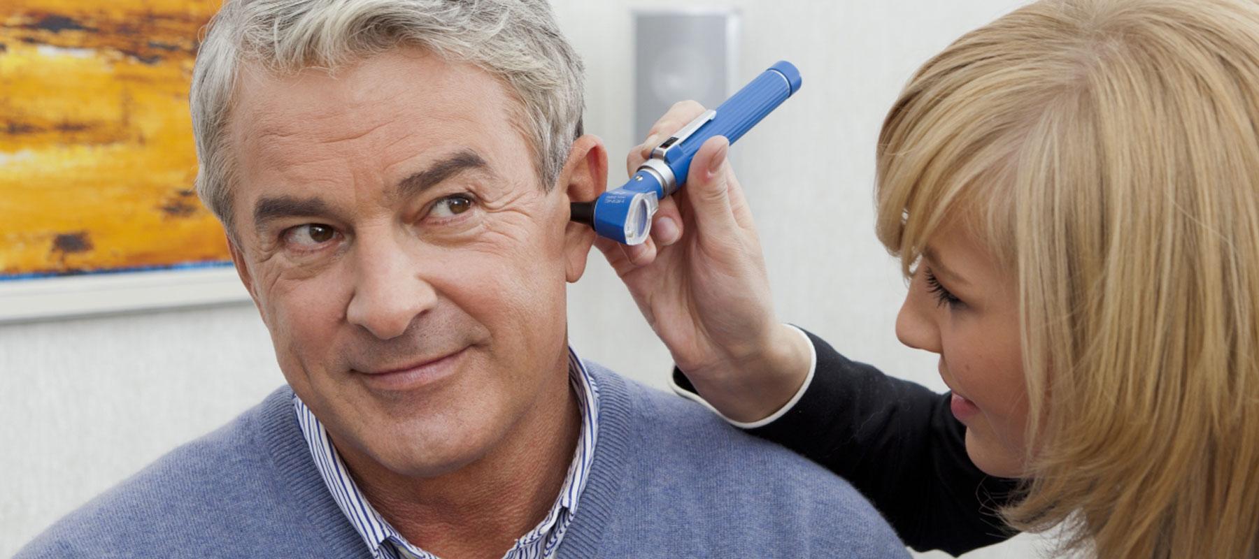 Hörgeräteversorgung bei einer Hörminderung